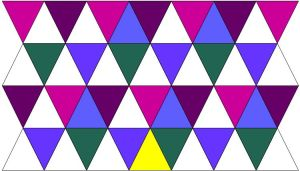 A Thousand Pyramids Quilt Pattern