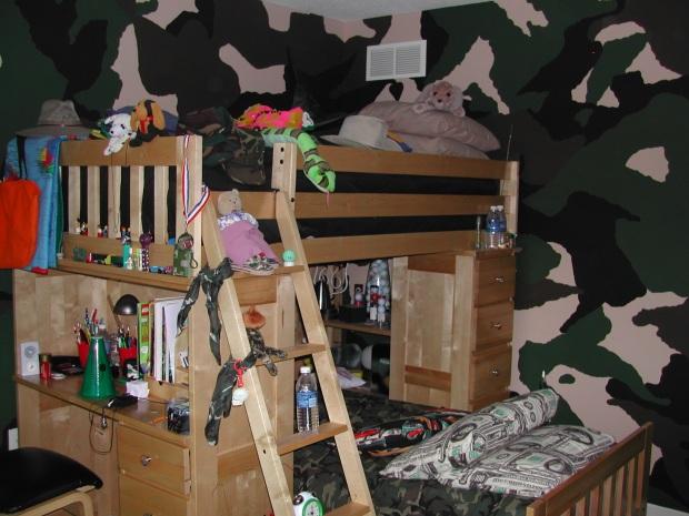 princess bed plans bunk