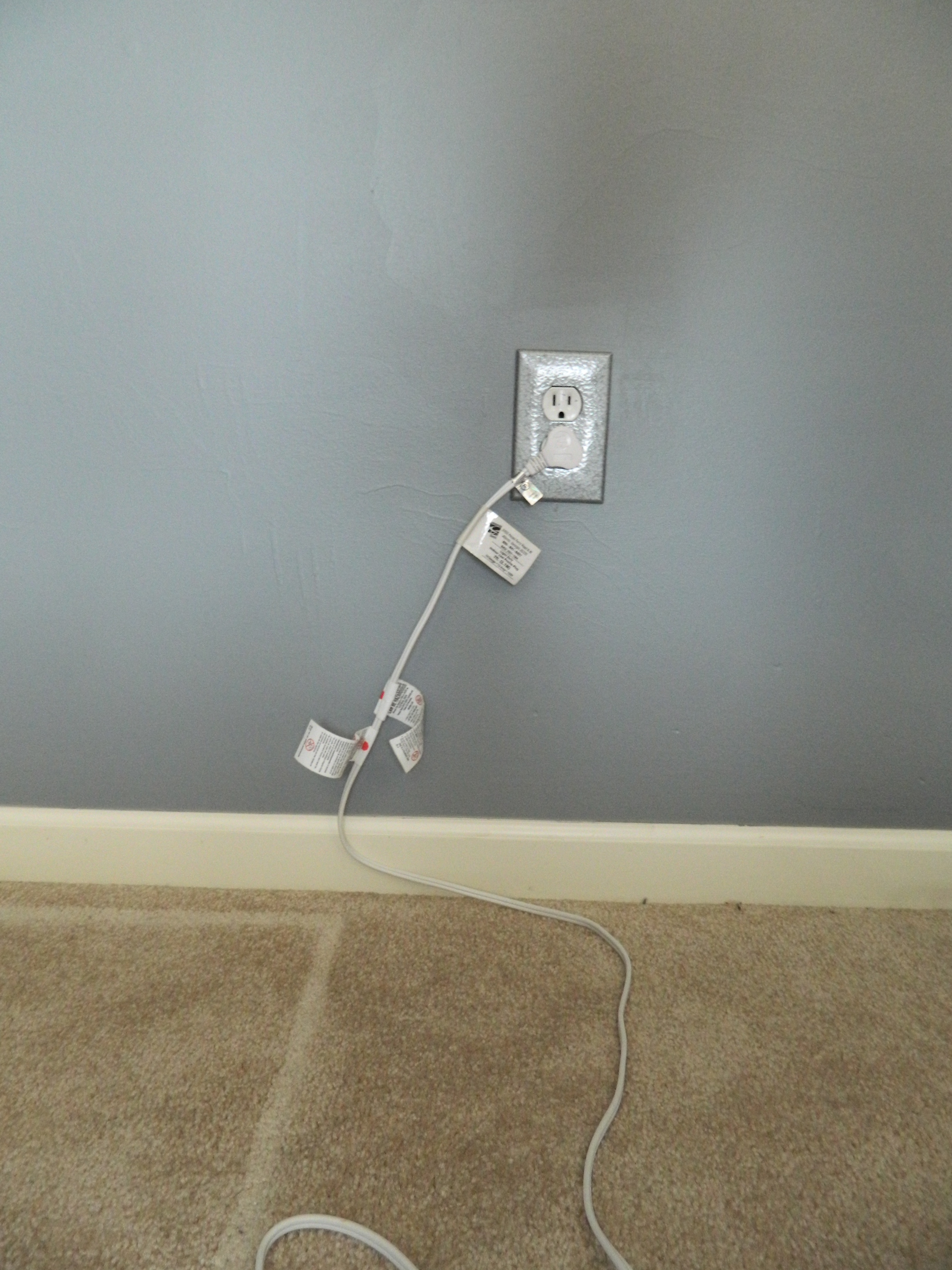 Flat Extension Cord Home Depot : The kid s room re do nearing finish line on my