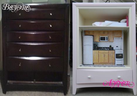 Doll Dresser B&A