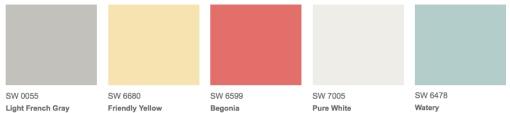 SherwinWilliam Colors