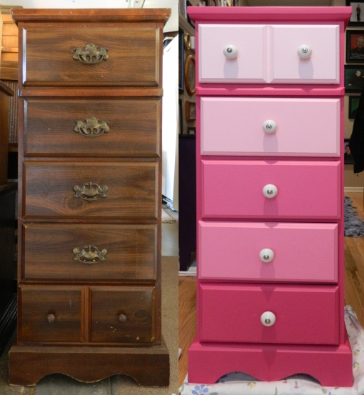 Tall Chest Before&After
