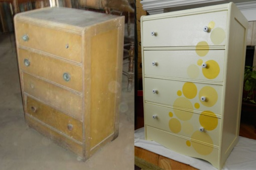 Yellow Dots Before&After