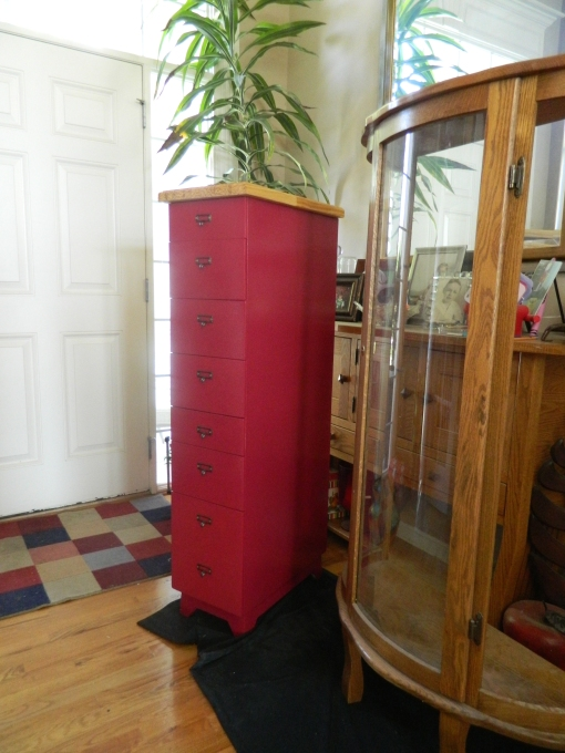 Red Thread Cabinet