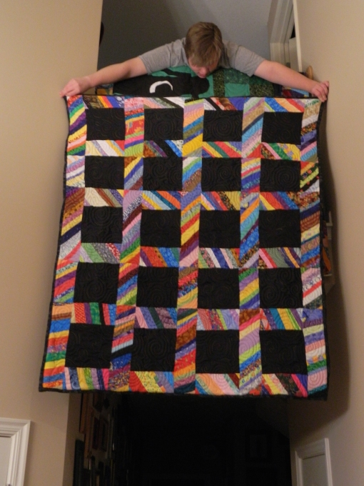 Strippy Sash Quilt