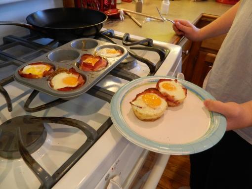 Bacon & Eggs Before