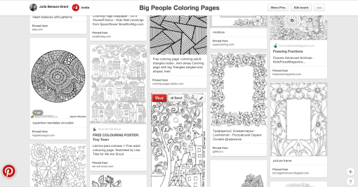 Big People Coloring Pages